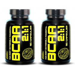 1+1 BCAA 2:1:1 - Best Nutrition 250+250 kaps.
