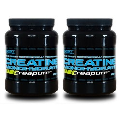 1+1 Creatine Monohydrate Creapure  - Best Nutrition 300 g + 300 g