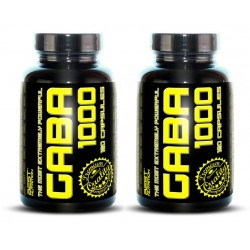 1+1 GABA 1000 - Best Nutrition 120+120 kaps