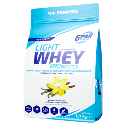 Light Whey Probiotics 1800g - 6PAK