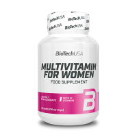 Multivitamin for Women 60 tab - BIOTECH USA