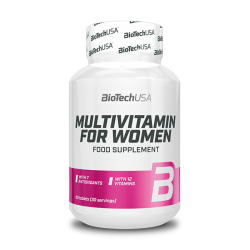 Multivitamin for Women 60 tab - BIOTECH USA