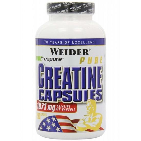 Weider Creatine Capsules - WEIDER 100 kaps