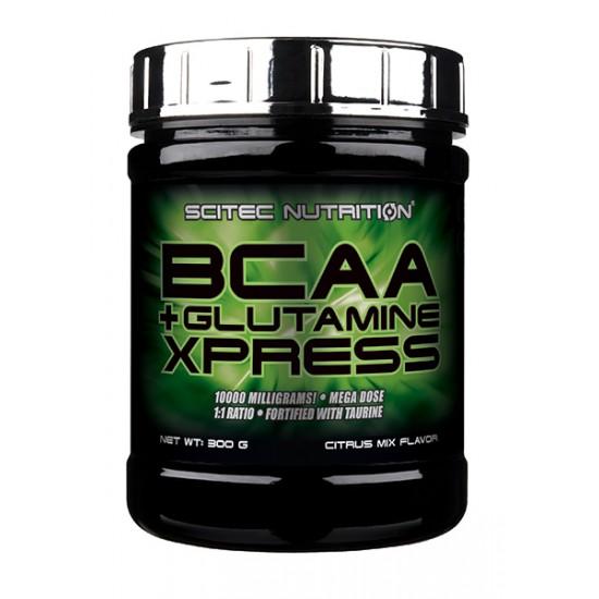 BCAA + GLUTAMINE  XPRESS 300G - SCITEC NUTRITION