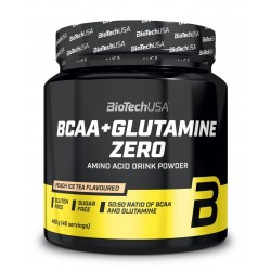 BCAA + Glutamine Zero 480 g - BIOTECH USA