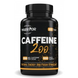 Caffeine 200 - 100 tab - WARRIOR