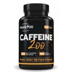Caffeine 200 - 100 tab - WARRIOR