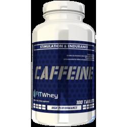 CAFFEINE 200mg 100 tab - FITWhey