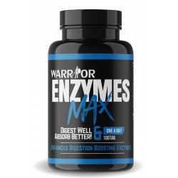 Enzymes Max - tráviace enzýmy 100 tab - WARRIOR
