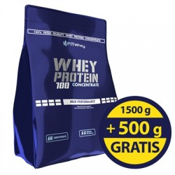 Whey Protein 100 Concentrate 2000g - FITWhey