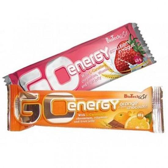 GO Energy Bar 40g - BIOTECH USA