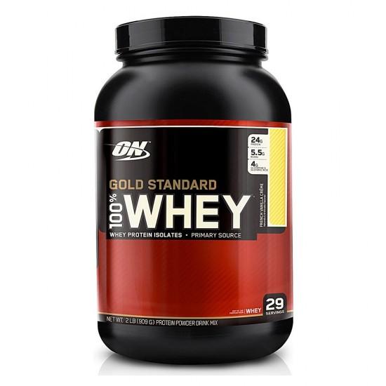 100% Whey Gold Standard Protein - Optimum Nutrition 908g