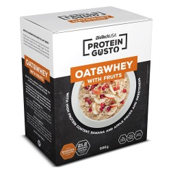 Protein Gusto - Oat & Whey with Fruits 696 g - BIOTECH USA