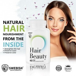 Hair Beauty 60 kaps - Swedish Supplements