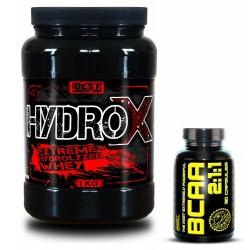Hydro X + BCAA 2:1:1 Zadarmo od Best Nutrition 1000g