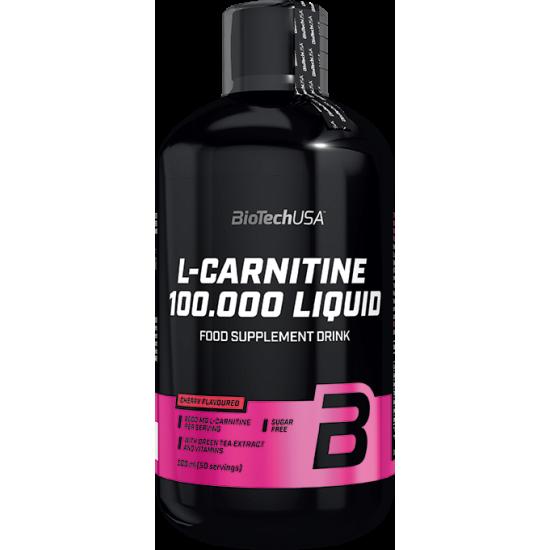 L - Carnitine 100 000 Liquid 500ml - BIOTECH USA
