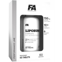 Lipoburn 60 tab - Fitness Authority