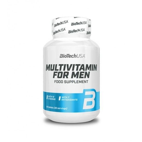 Multivitamin for Men 60 tab - BIOTECH USA
