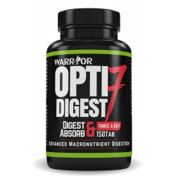 Opti 7 Digest - tráviace enzýmy 150 tab - WARRIOR