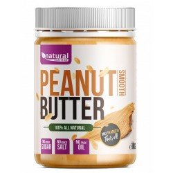 Peanut Butter - Arašidové maslo 1 kg - NATURAL NUTRITION