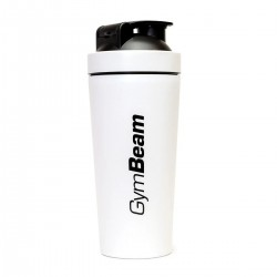 Šejker Steel White 750 ml - GymBeam