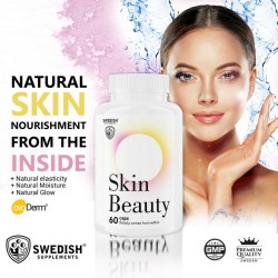 Skin Beauty 60 kaps - Swedish Supplements