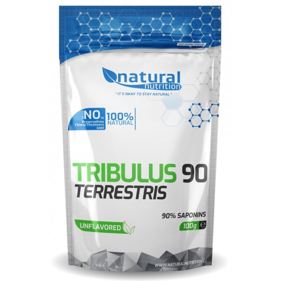 Tribulus Terrestris 90% saponínov 100g - NATURAL NUTRITION