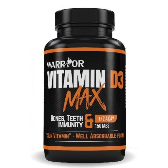 Vitamin D3 Max - 150 tab - WARRIOR