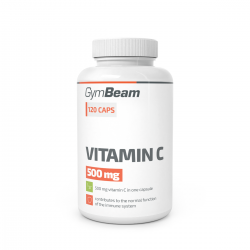Vitamín C 500 mg 120 kaps - GYMBEAM