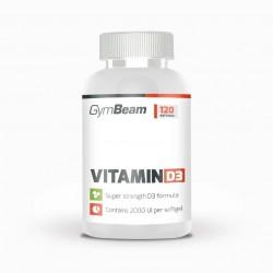 Vitamín D3 2000 IU 120 kaps - GYMBEAM