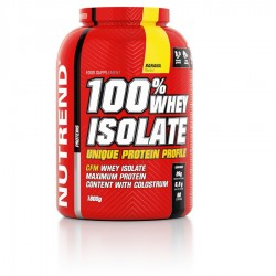 100 % WHEY ISOLATE - NUTREND 900g