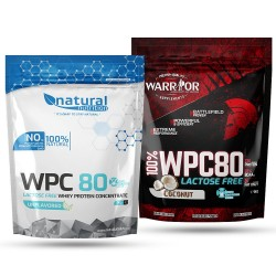 WPC 80 Lactose Free Protein 1000g - WARRIOR