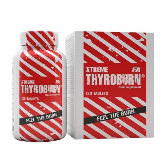 XTREME THYROBURN 120 tab - Fitness Authority