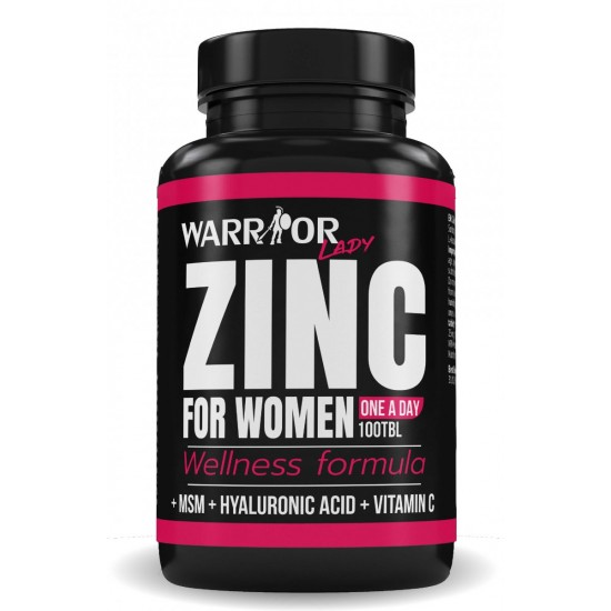 Zinok pre ženy - 100 tab - WARRIOR